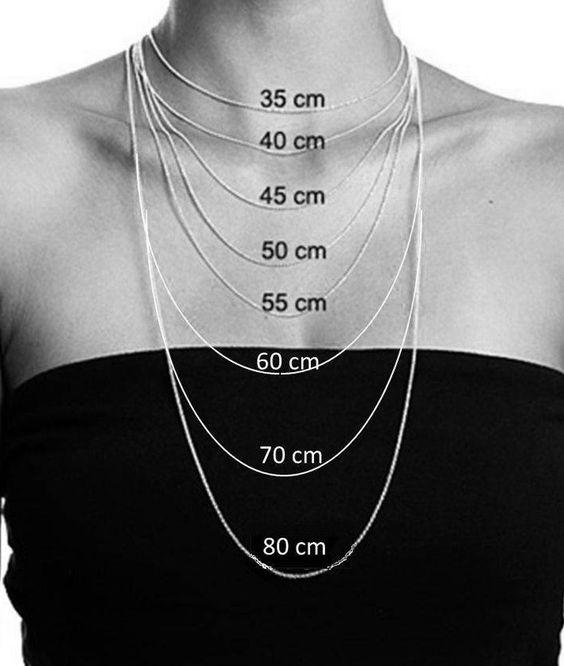 medida do colar