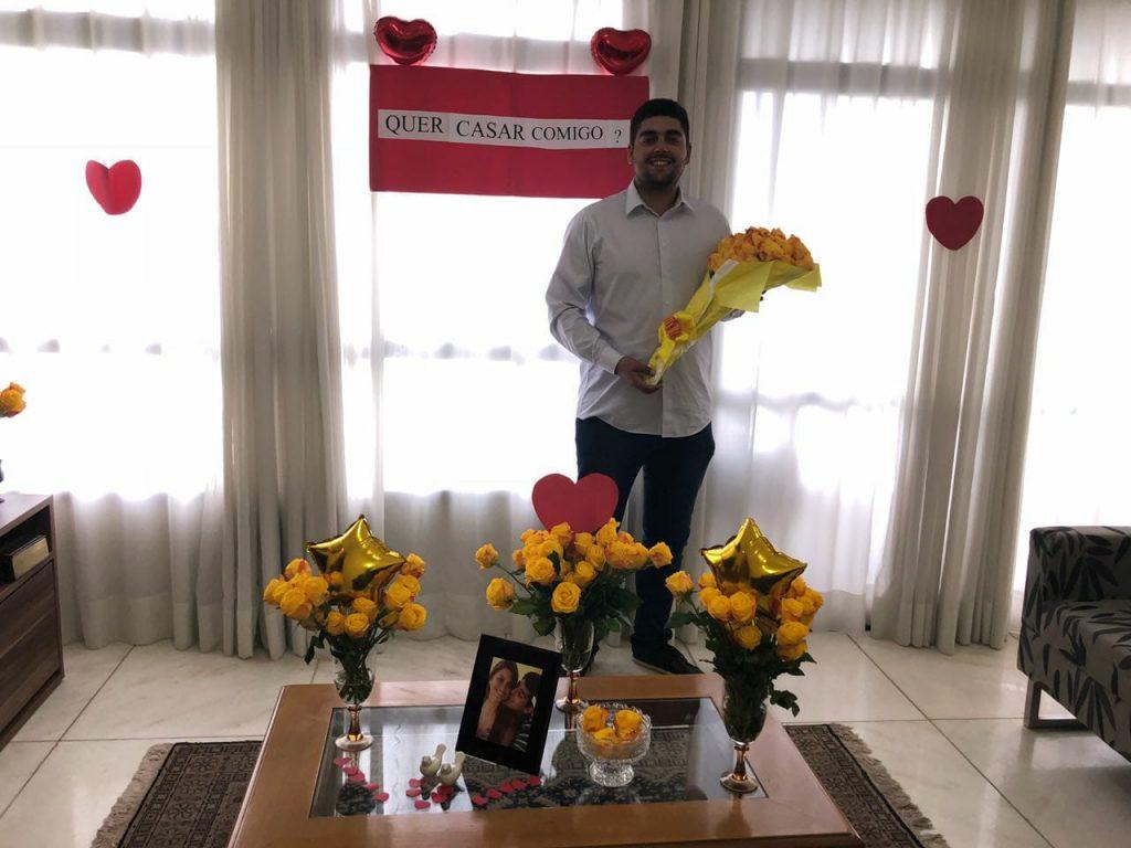 Israel com bouquet