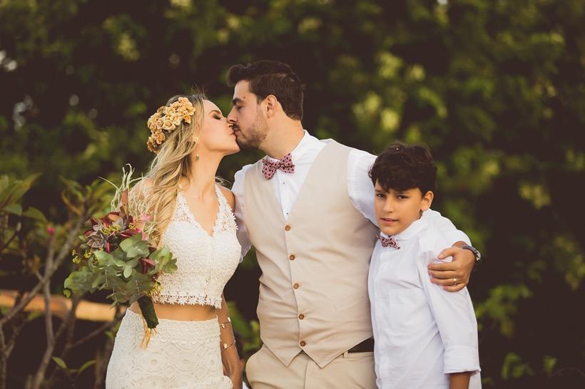 Vini, Ana e Caio - casamento