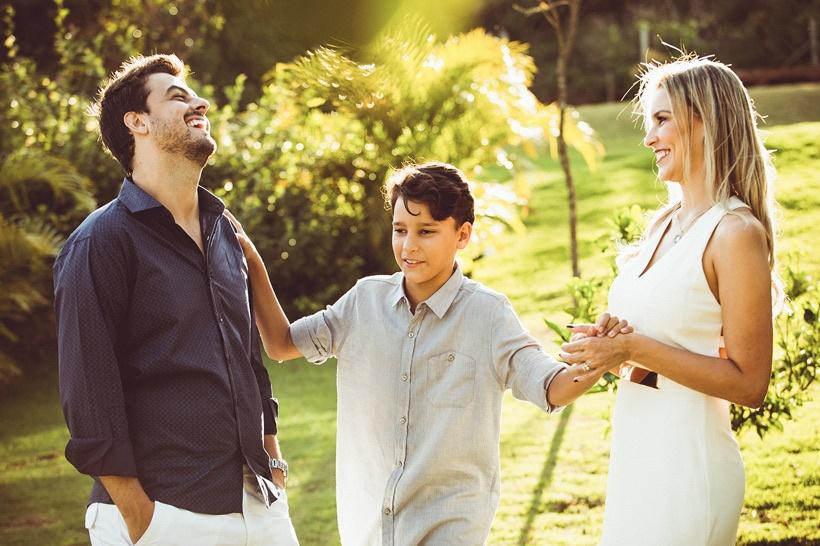 Vini, Caio e Ana